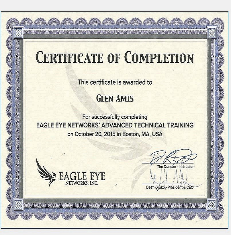 Open Road Systems achieves Eagle Eye Networks Certification   Open